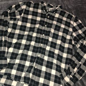 Men's Old Navy plaid flannel shirt size XXL